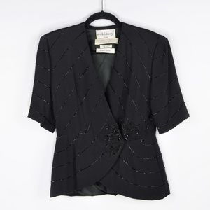 Neiman Marcus Vintage André Laug Beaded Jacket